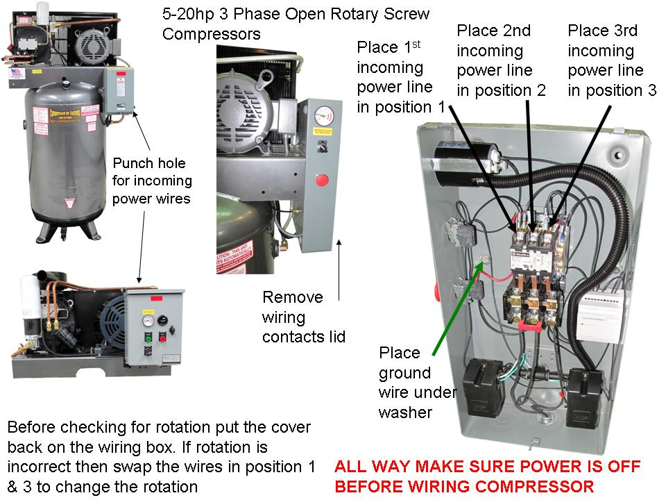 air compressor 220v wiring diagram technical document | compressed air systems