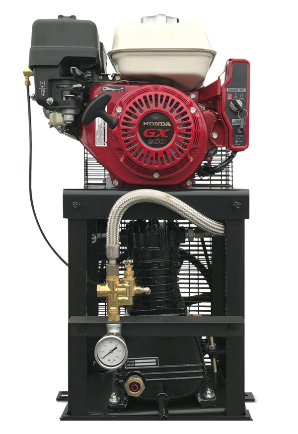 5.5 HP Engine Driven Reciprocating Cube