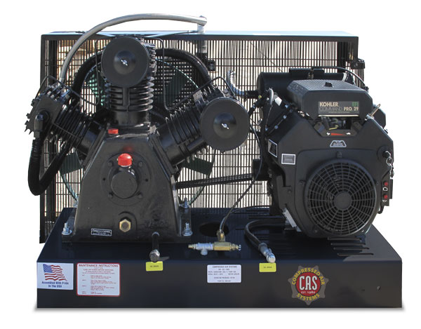 24 HP Diesel Engine Driven Compressor