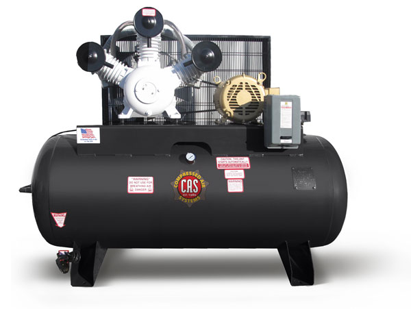 10 HP Oil-free Industrial-Duty Compressors