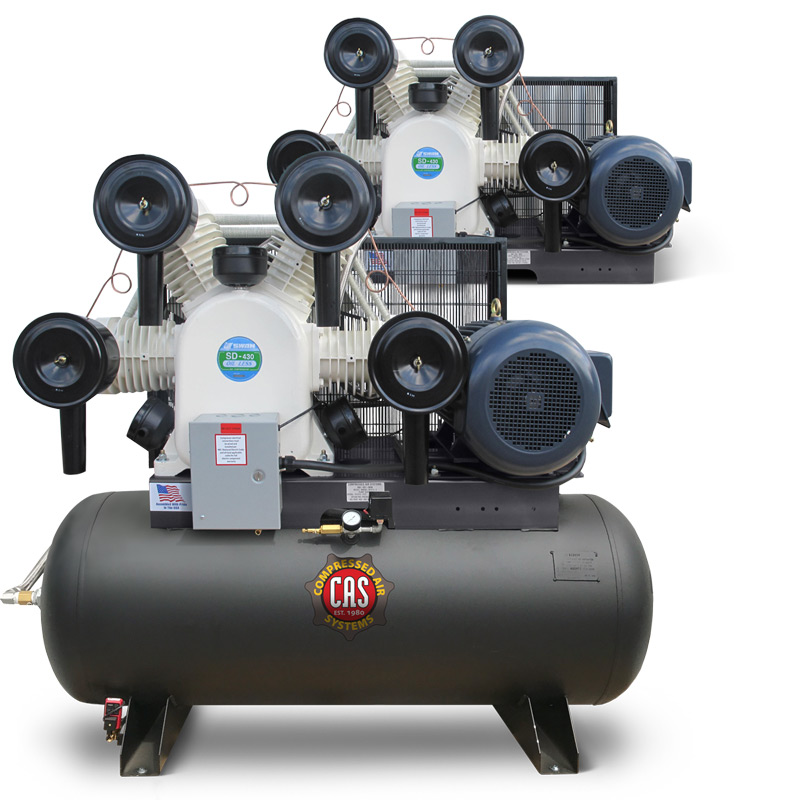 30 HP Oil-free Industrial-Duty Compressors