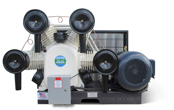 20 HP Oil-free Industrial-Duty Compressors