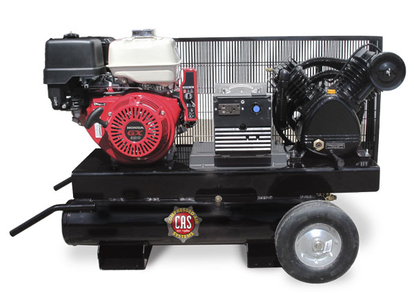 16.5 cfm Gasoline Engine Compressor/Generator